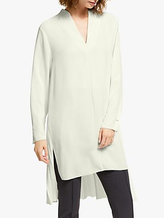 Modern Rarity Pleat Back Long Shirt, Natural