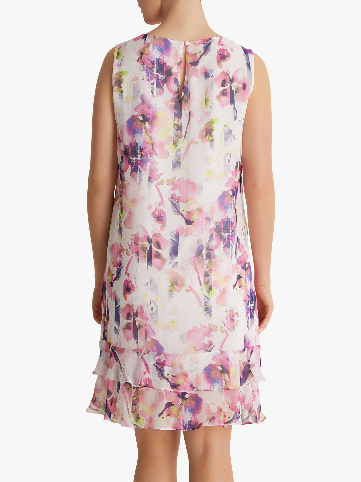 Buy Fenn Wright Manson Petite Romany Floral Ruffle Dress, Multi, 8 Online at johnlewis.com