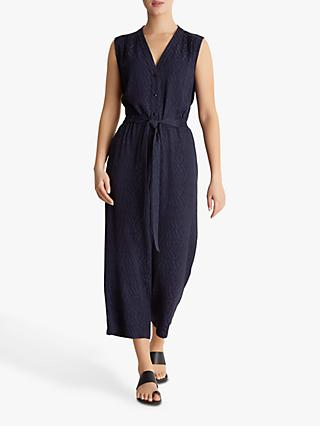 Fenn Wright Manson Petite Sea Print Jumpsuit, Navy