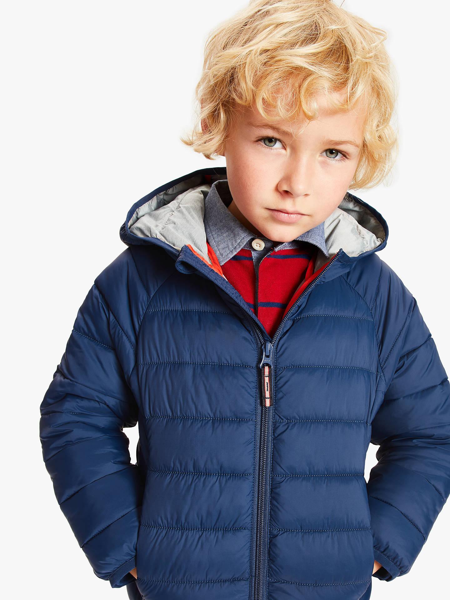 34929af8994 Buy John Lewis & Partners Boys' Padded Coat, Blue, 7 years Online at ...
