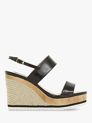 1483d024431 Dune Karii Wedge Heel Sandals