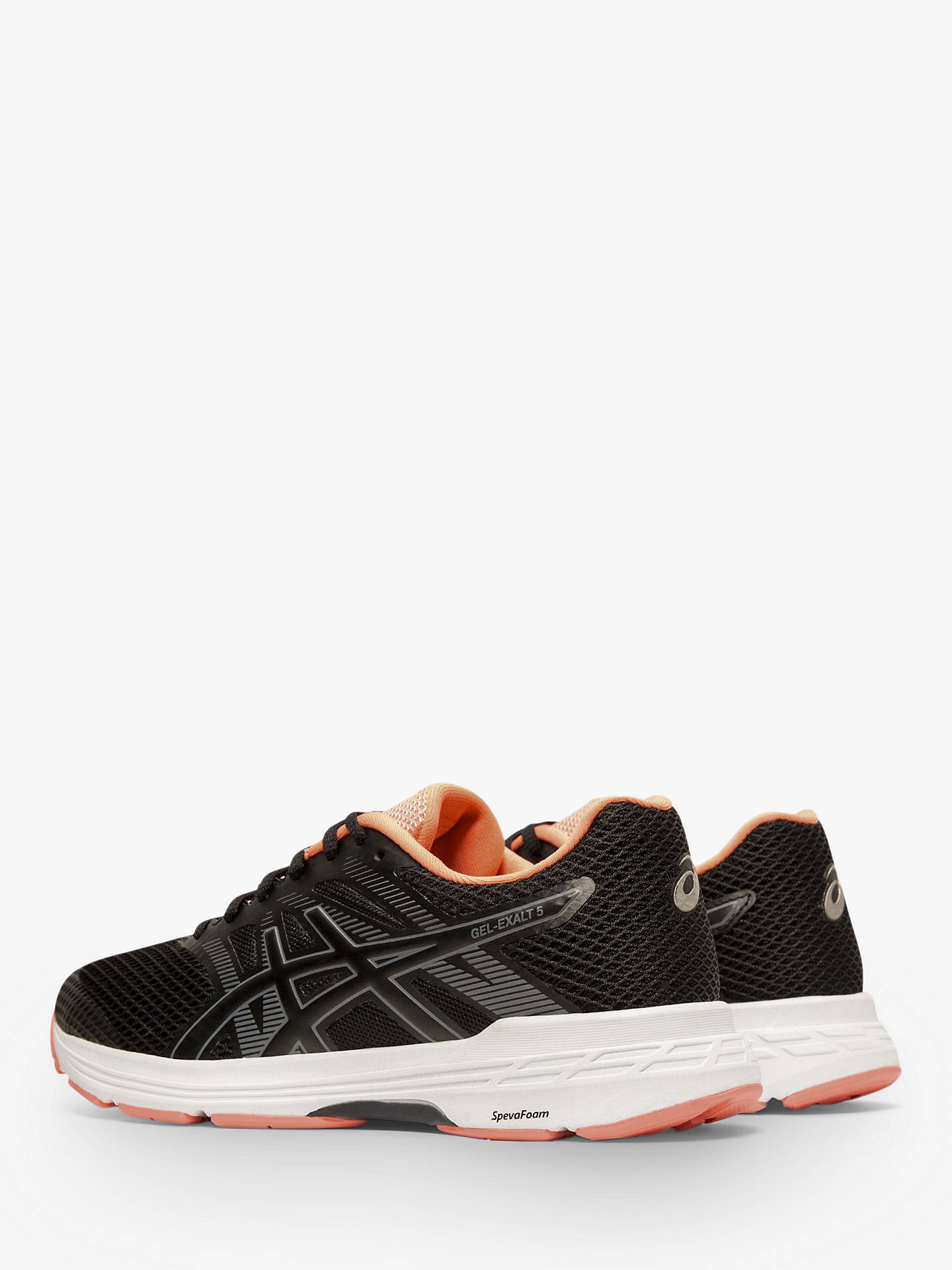 Buy ASICS GEL-EXALT 5 Women's Running Shoes, Black/Metropolis, 4 Online at johnlewis.com