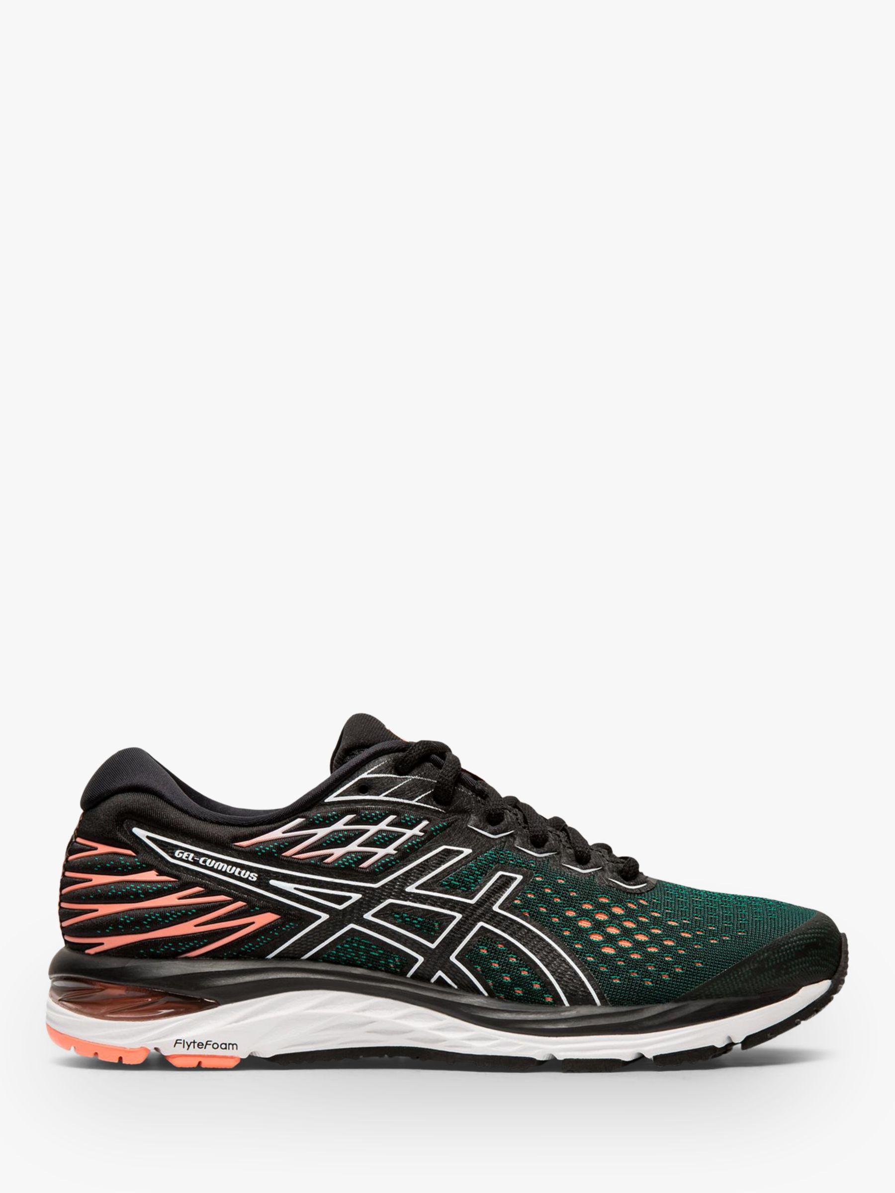 ASICS GEL CUMULUS 21 Women's Running Shoes, BlackSun Coral