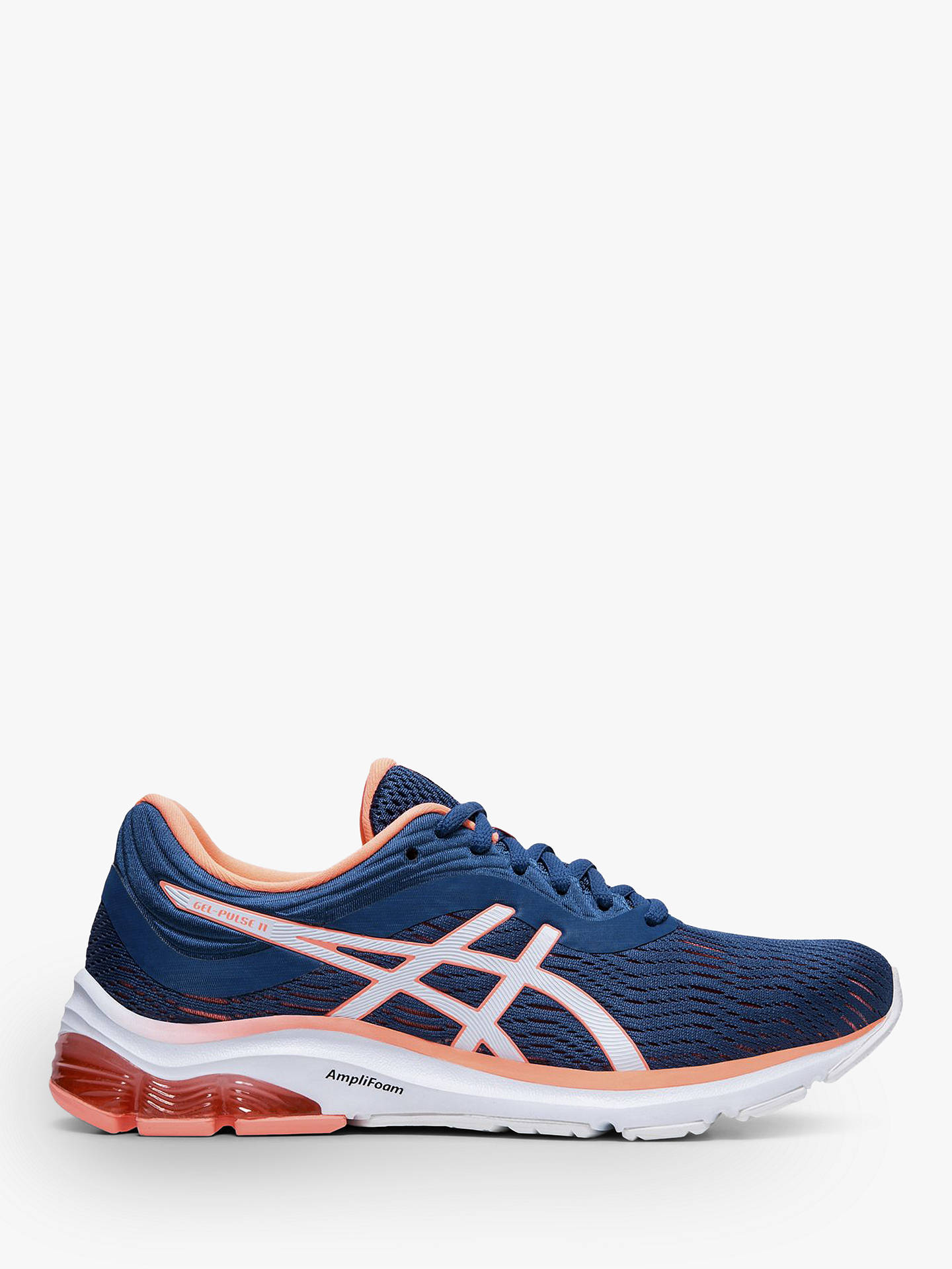 ASICS GEL-PULSE 11 Women's Running Shoes, Mako Blue/Sun Coral