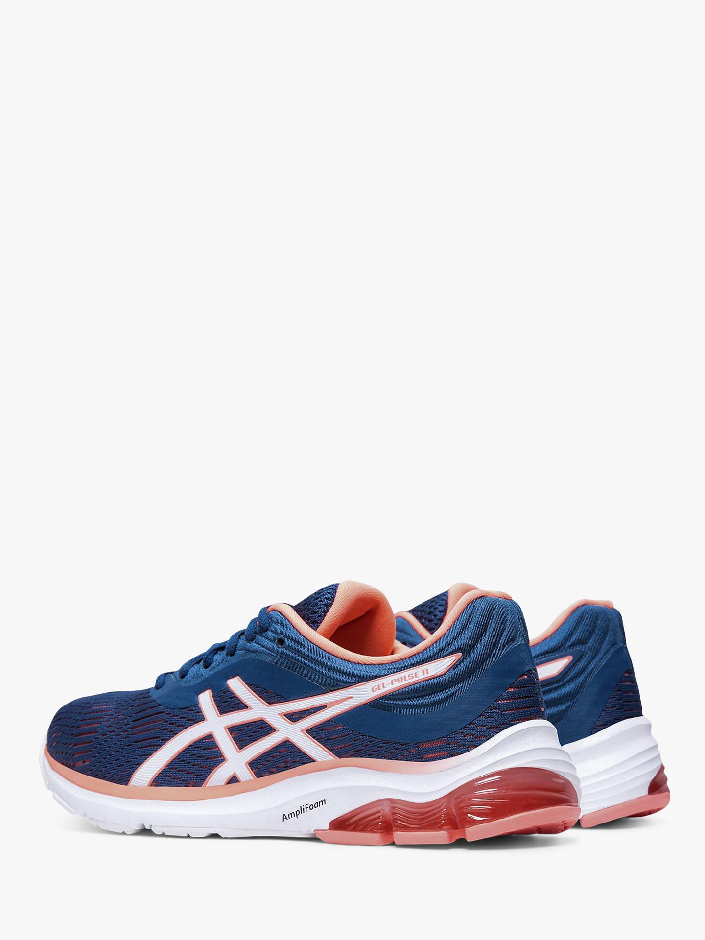 07f8b851 ASICS GEL-PULSE 11 Women's Running Shoes, Mako Blue/Sun Coral