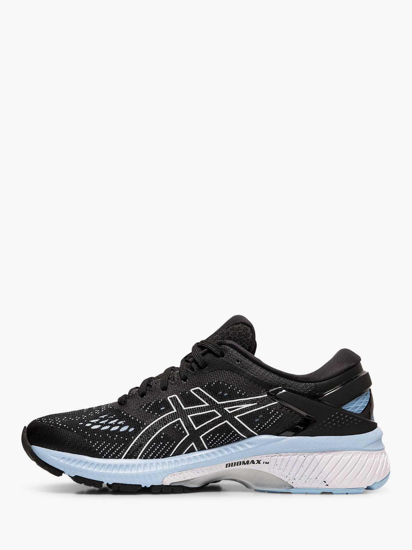 finest selection c5b5a 7a720 ASICS GEL-KAYANO 26 Women's Running Shoes, Black/Heritage Blue