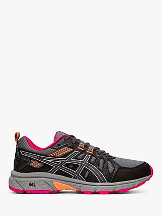 ASICS GEL-VENTURE 7 Women's Trail Running Shoes, Carrier Grey/Silver