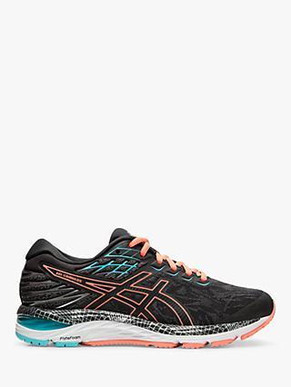 ASICS GEL-CUMULUS 21 Lite-Show Women's Running Shoes, Grey/Sun Coral