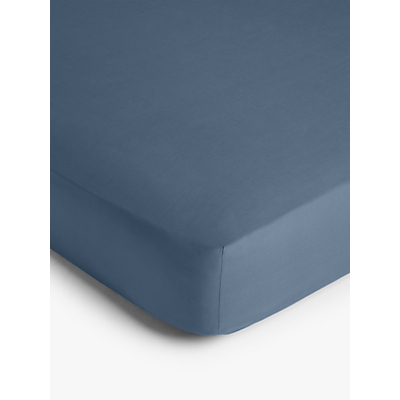 John Lewis & Partners Crisp and Fresh 200 Thread Count Egyptian Cotton Deep Fitted Sheet