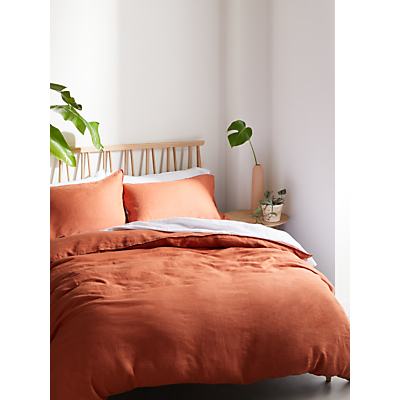 John Lewis & Partners 100% Linen Bedding