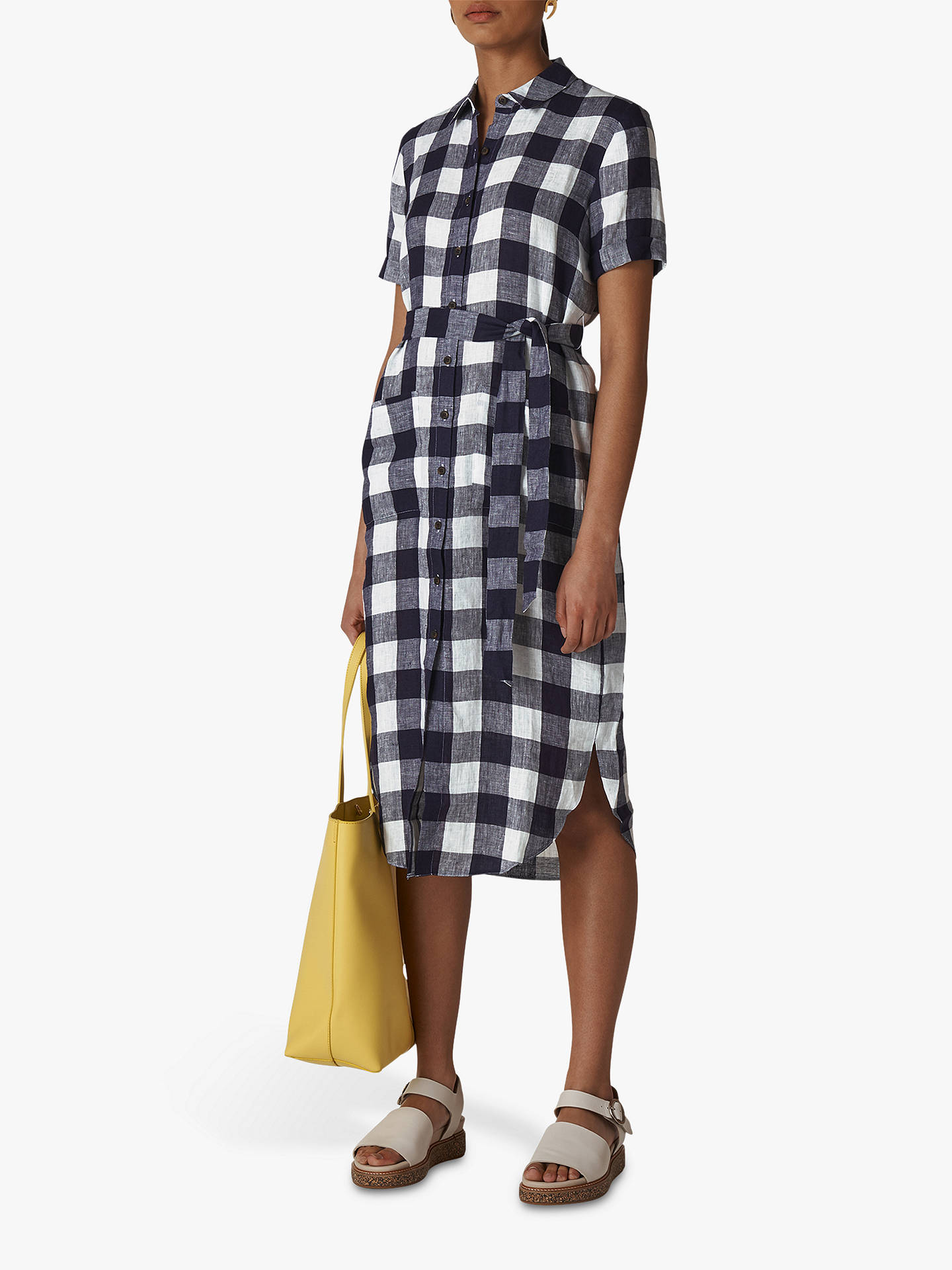0bec1329b28 Buy Whistles Montana Gingham Shirt Dress