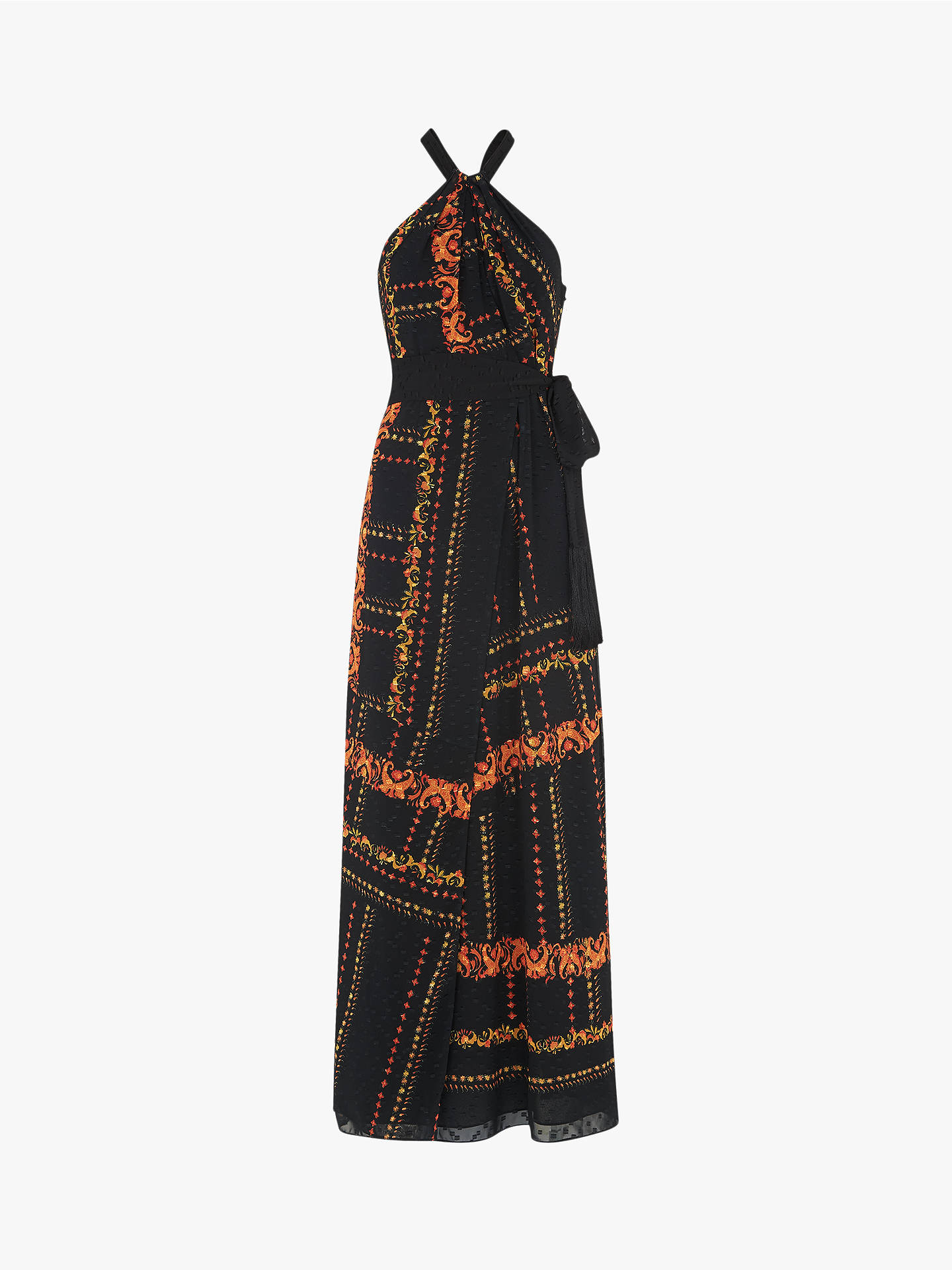 8273c1eebfd Buy Whistles Scarf Print Halterneck Dress