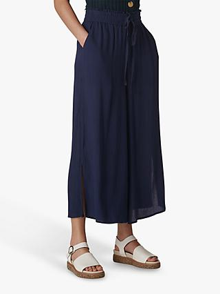Whistles Fluid Cropped Trousers