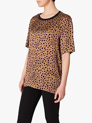 b3825acdd34 PS Paul Smith Cheetah Print Top