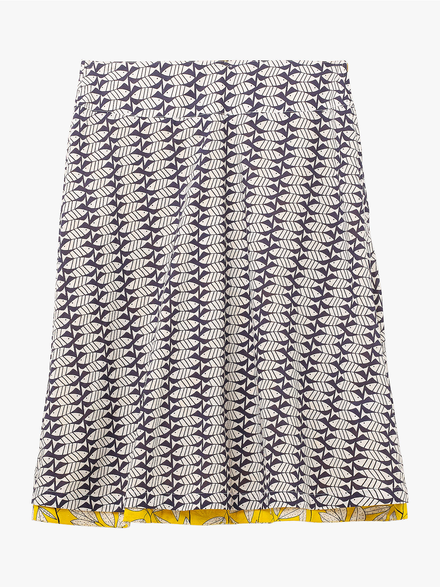 c5de5db52c Buy White Stuff Namibia Reversible Skirt, Yellow/Multi, 10 Online at  johnlewis.
