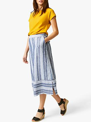 White Stuff Oya Linen Skirt