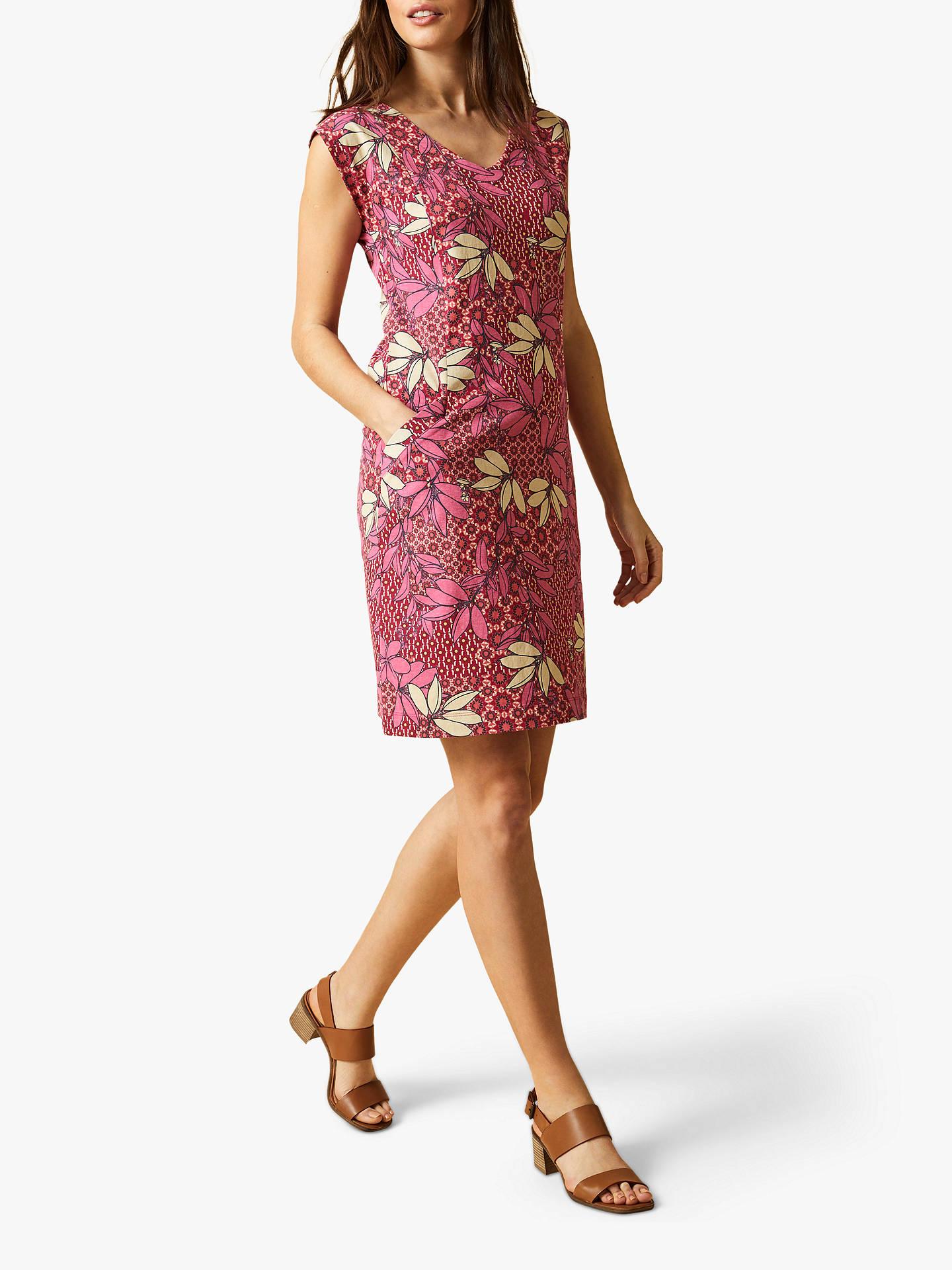 50afc6652c Buy White Stuff Fairtrade Lena Floral Dress, Pink, 8 Online at  johnlewis.com ...