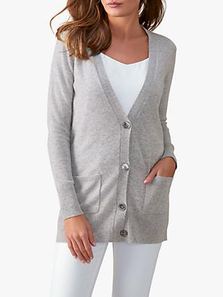e599c97e25da0 Pure Collection Cashmere Boyfriend Cardigan