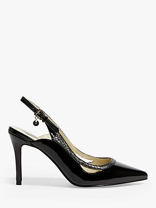 72305367b43 Karen Millen Slingback Stiletto Heel Court Shoes