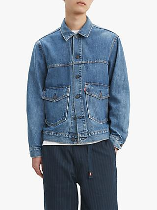 Levi's Trucker Patch Pocket Denim Jacket, Gear Box Trucker