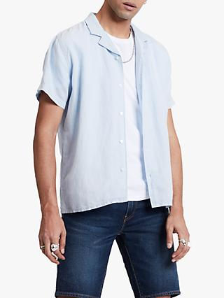 a22cfc8c6 Levi's Cubano Linen Cotton Shirt, Skyway