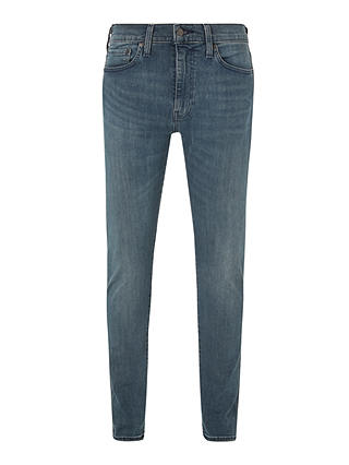 Buy Levi's 512 Slim Tapered Jeans, Sage Medium Blue, 30S Online at johnlewis.com