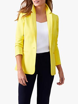 9911748935246 Pure Collection Textured Tailored Blazer
