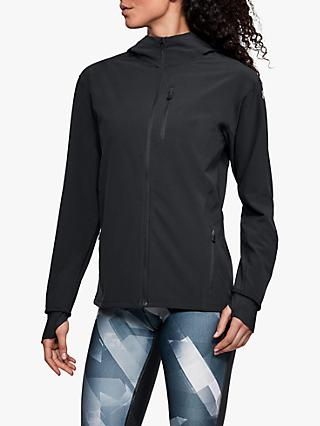 9aa71d998 Under Armour Outrun The Storm Women's Running Jacket, Black/Reflective