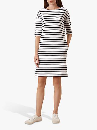 fe22e2d6511 Hobbs Mariner Stripe Cotton Dress