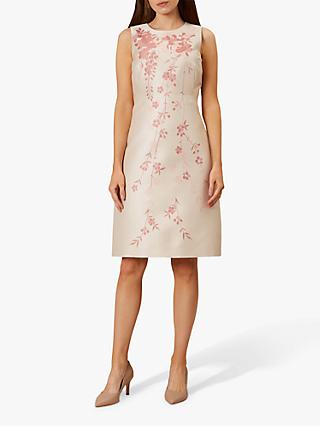 Hobbs Melody Dress, Oyster Posie