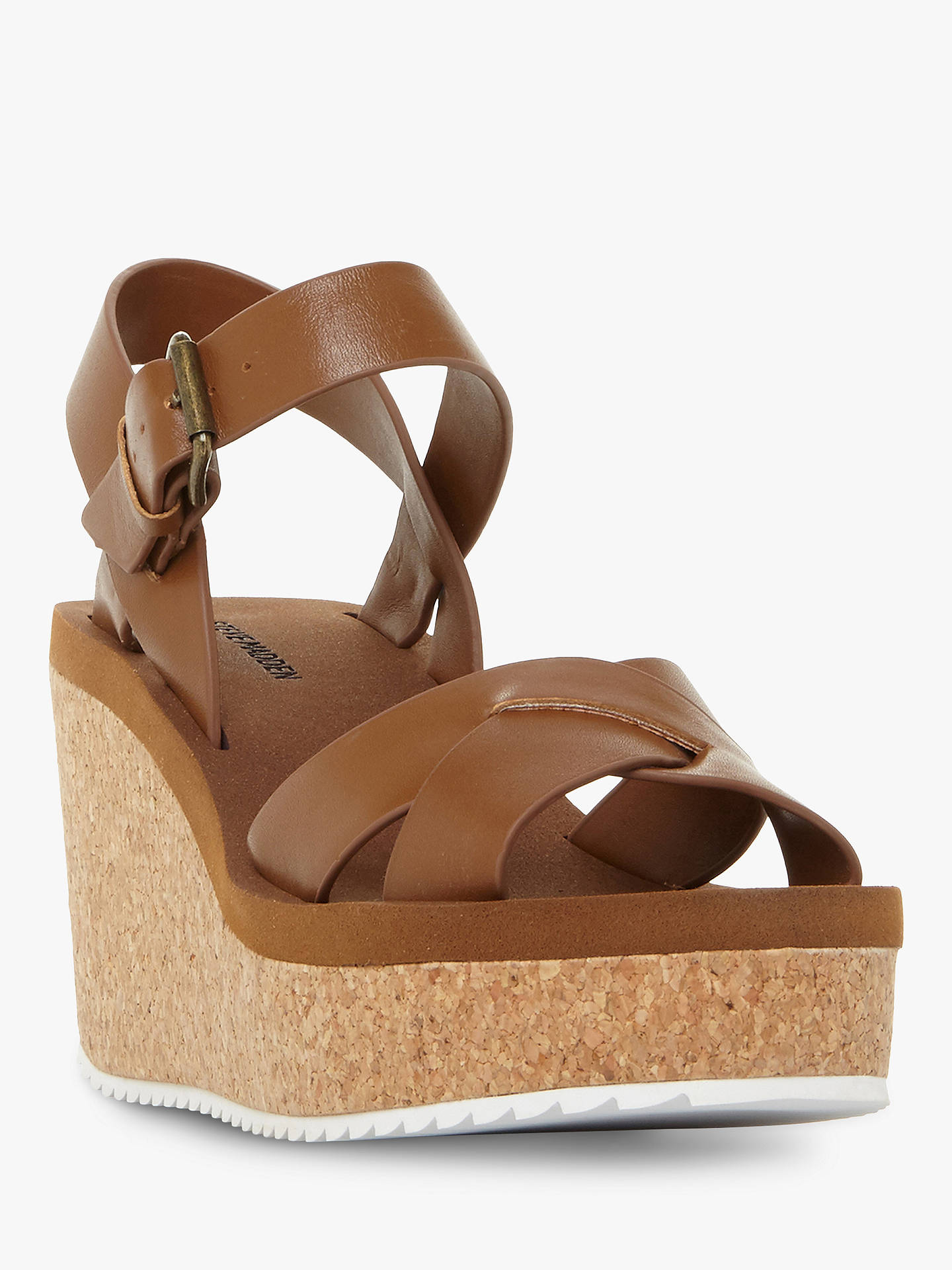 fb853383efe5 Steve Madden Gypsie Cork Wedge Sandals at John Lewis   Partners