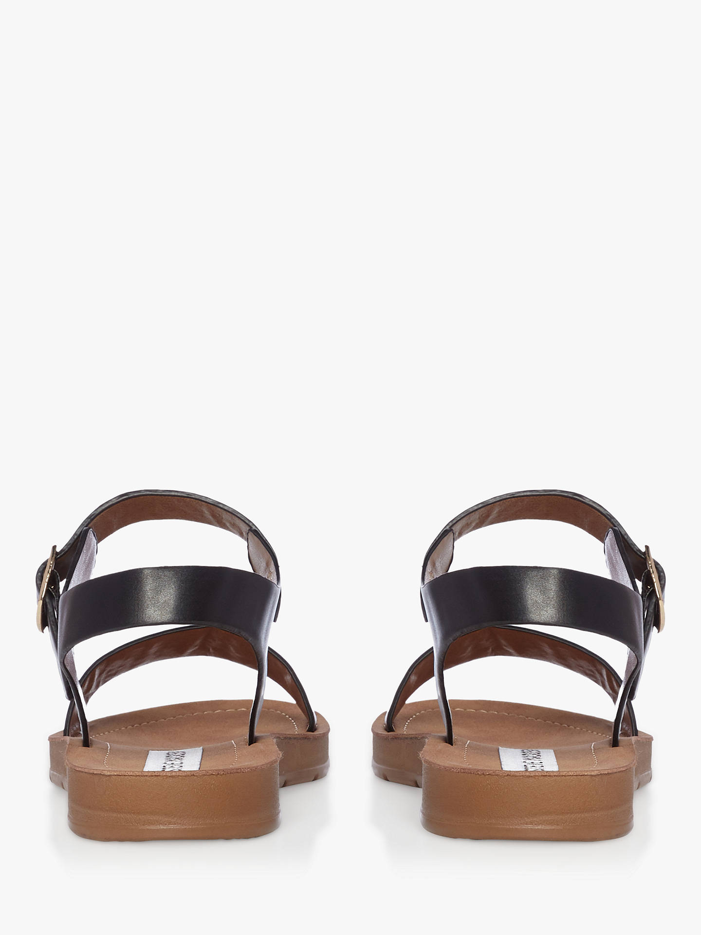 c12743b5a01 Steve Madden Probable Two Part Flat Sandals at John Lewis & Partners