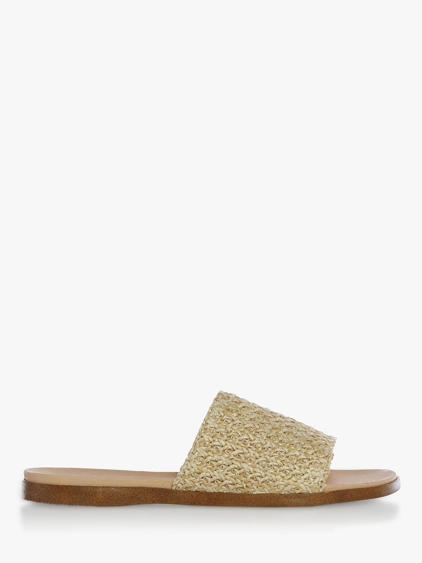 99ac2894b54 Steve Madden Oceana Slider Sandals, Natural Raffia
