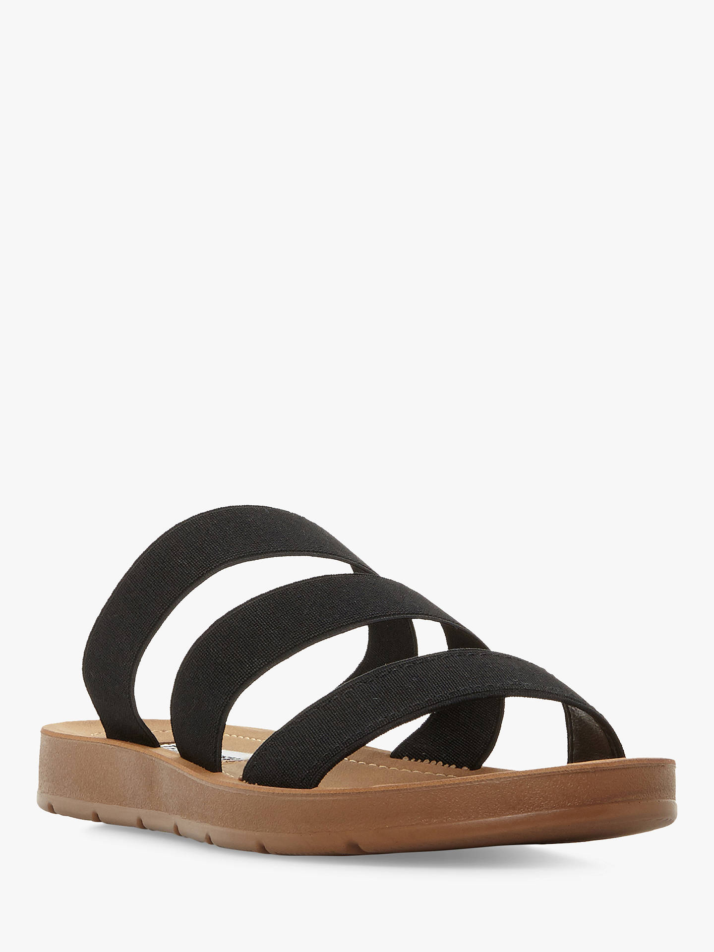 ed4632df327d Steve Madden Pascale Slip On Flat Sandals at John Lewis   Partners
