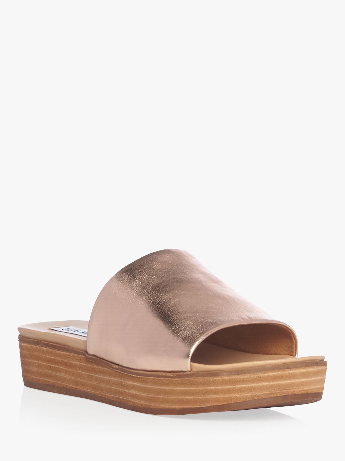 07fa1a69059 Steve Madden Genca Flatform Sandals at John Lewis & Partners