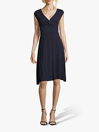 Betty Barclay Slip On Jersey Dress, Dark Blue