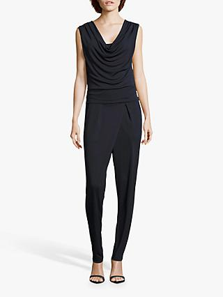 Betty Barclay Jersey Jumpsuit, Dark Sky