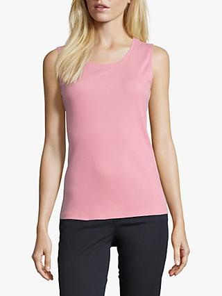 Betty Barclay Fine Ribbed Vest Top, Sea Pink