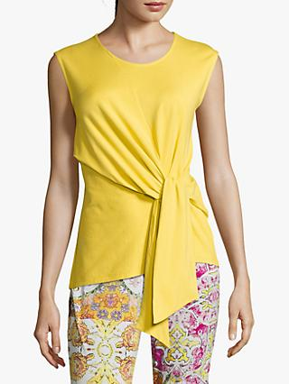 Betty Barclay Tie Sleeveless Top, Super Lemon
