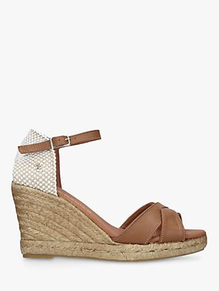 Kurt Geiger London Leona Woven Wedge Sandals