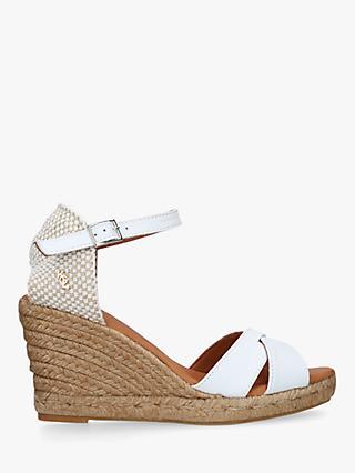 a35576fafc0 Kurt Geiger London Leona Woven Wedge Sandals
