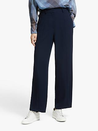 Modern Rarity Mensy Wide Leg Trousers, Blue