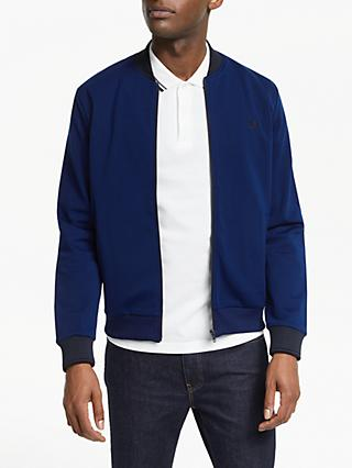 Fred Perry Tipped Bomber Jacket, French Navy