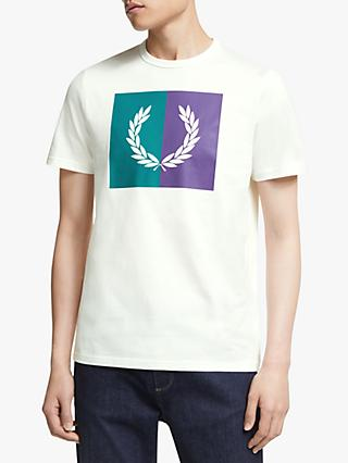 Fred Perry Split Laurel Wreath T-Shirt