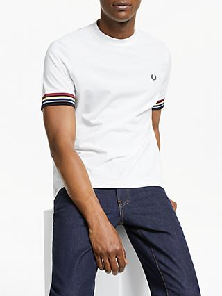 ae2131afe Fred Perry Tipped Sleeve T-Shirt