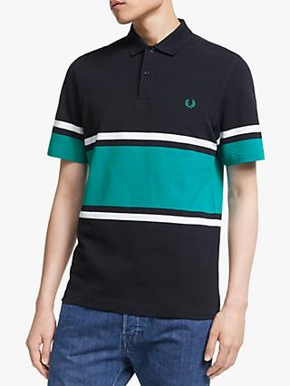 58063ab0b Fred Perry Bold Stripe Pique Polo Shirt