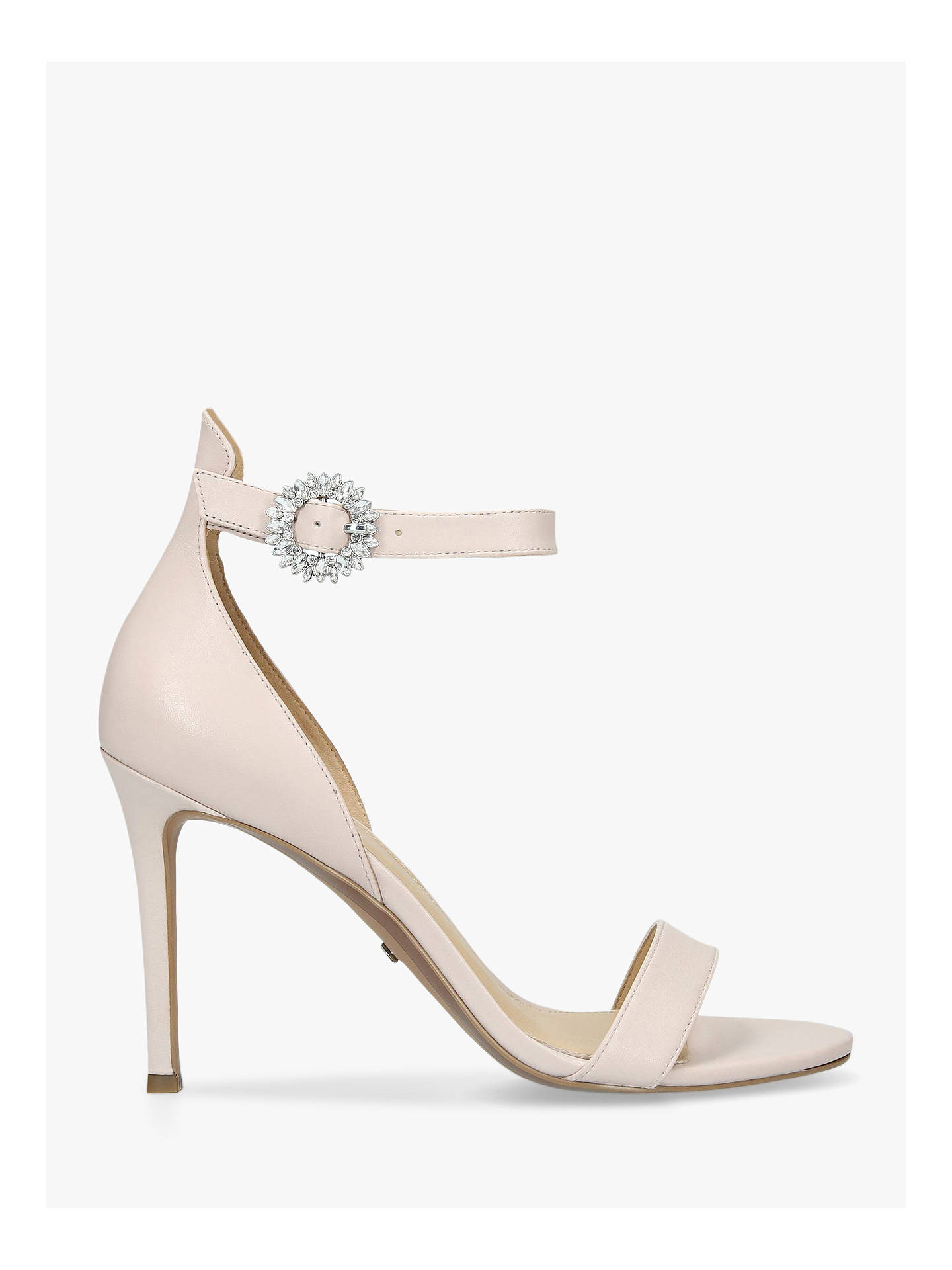 ca1d8a1d682c Buy MICHAEL Michael Kors Viola Stiletto Heel Sandals, Pink Leather, 4  Online at johnlewis ...