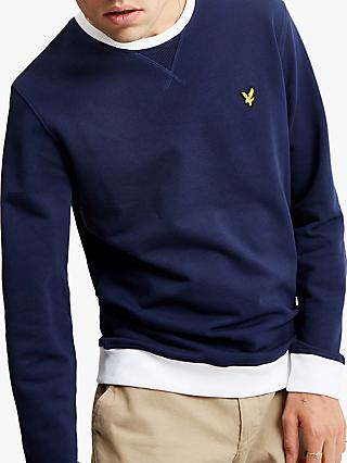 Lyle & Scott Contrast Sweatshirt, Navy