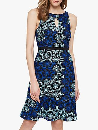 Damsel in a Dress Susanna Floral Dress, Blue