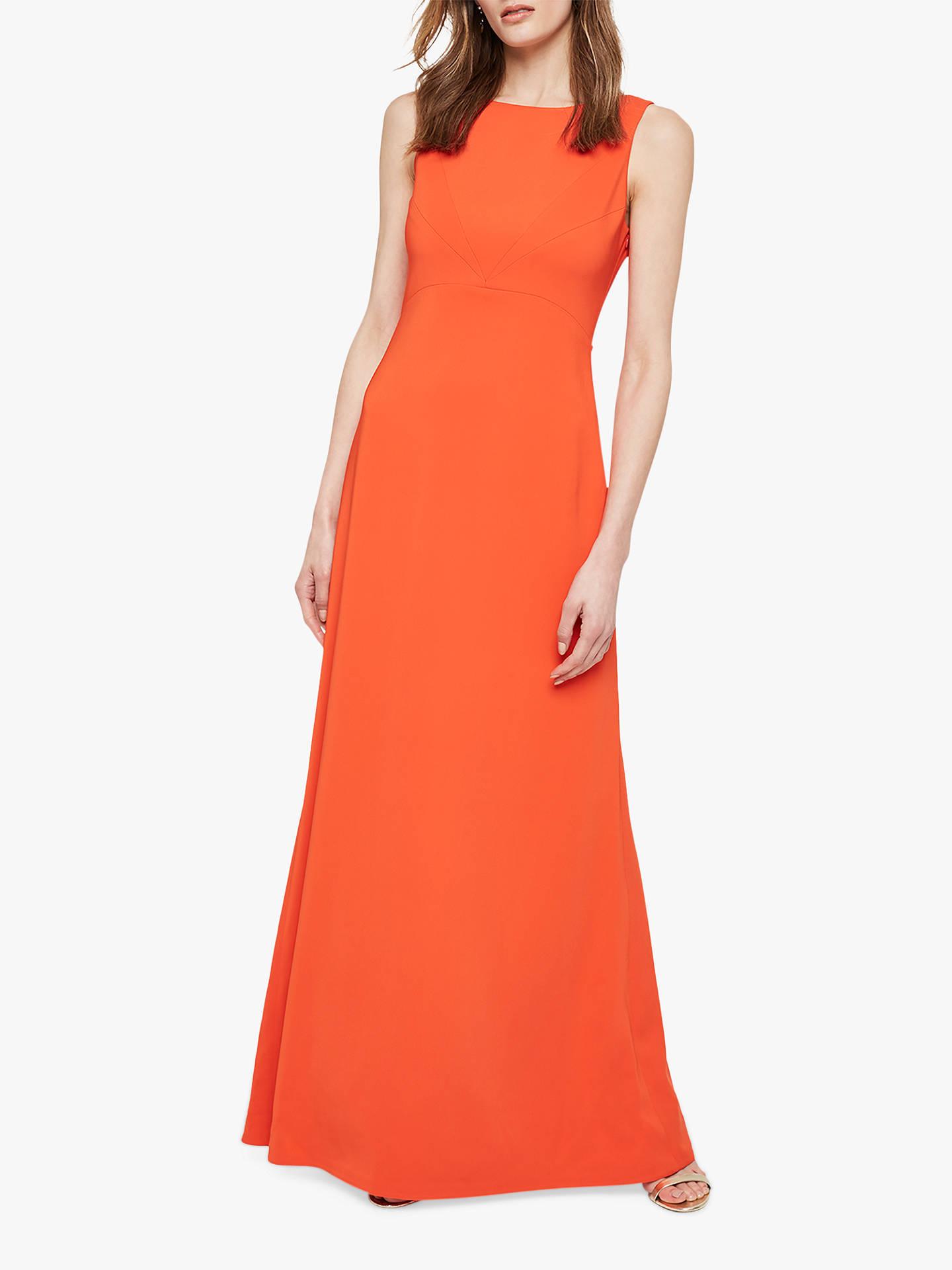 5afa2cc1b1c07 Damsel in a Dress Elise Tie Back Dress, Orange